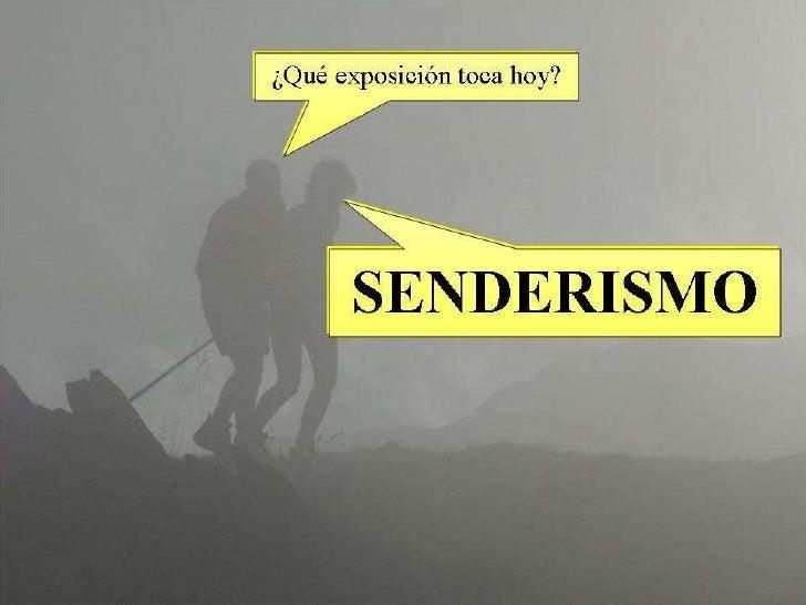 Power point Senderismo