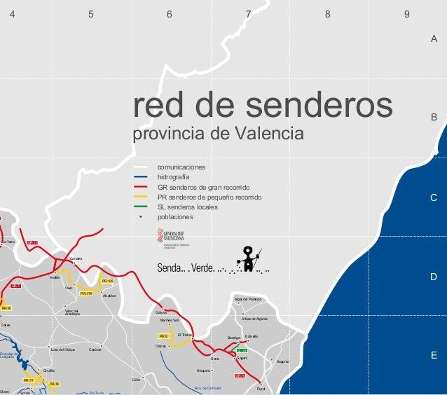 Red de Senderos Provincia de Valencia