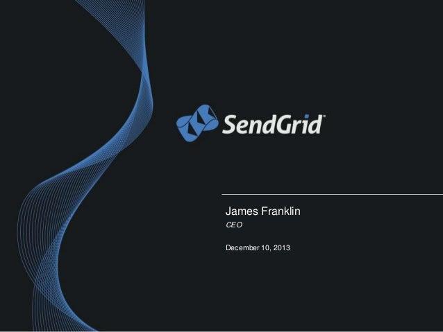 James Franklin CEO December 10, 2013