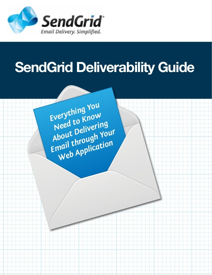 Sendgrid Deliverability Guide