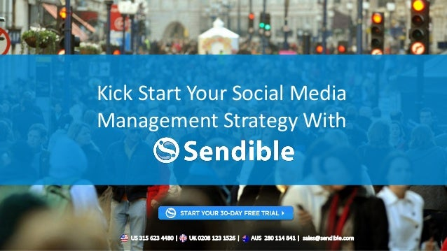 Kick Start Your Social Media Management Strategy With