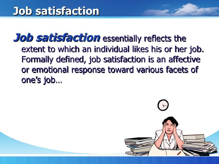 Case Study on Job Satisfaction | Case Study Template