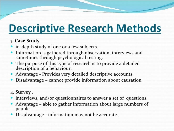 Essay on social research methods