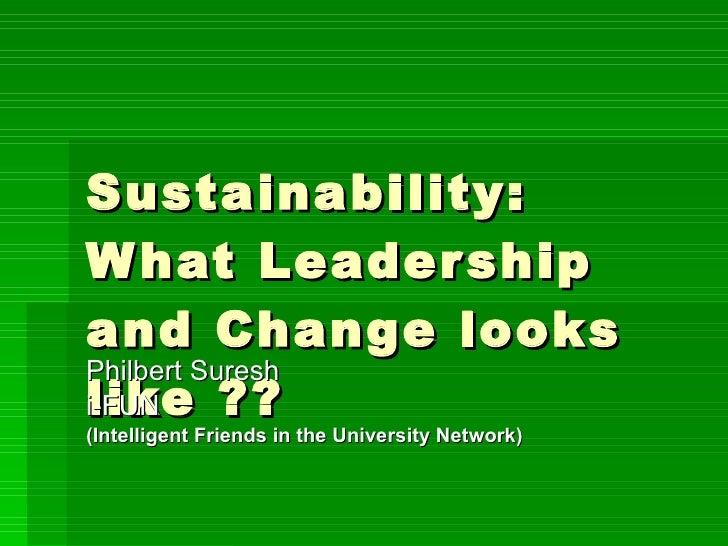 Seneca green sustaiability symposium march 2011