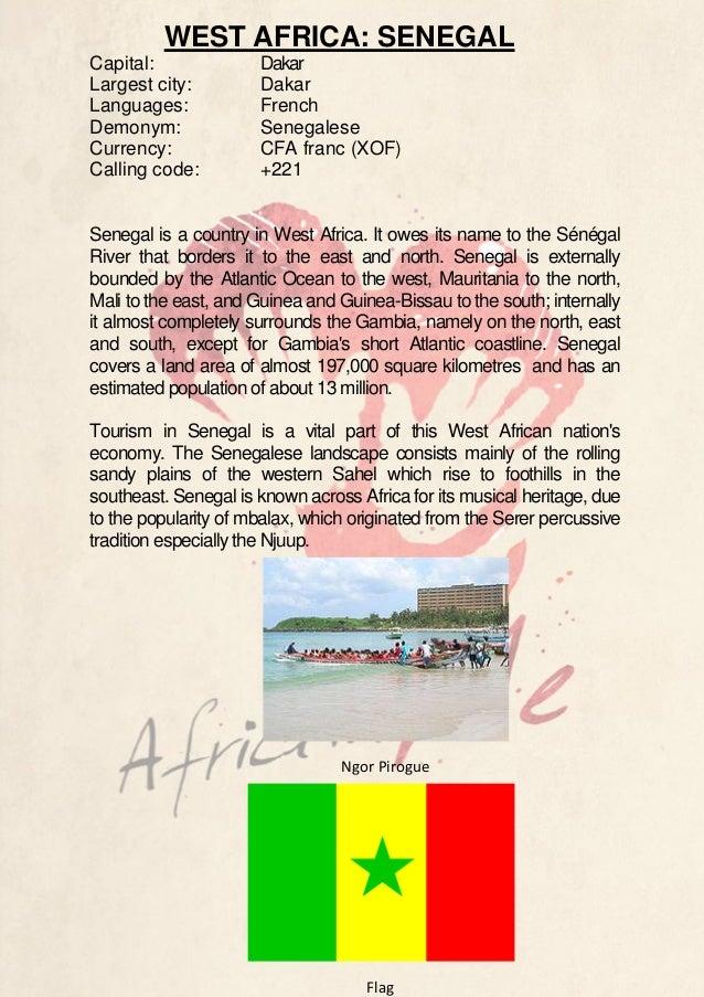 Country Description - Senegal