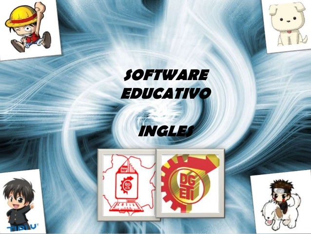SOFTWARE EDUCATIVO INGLES