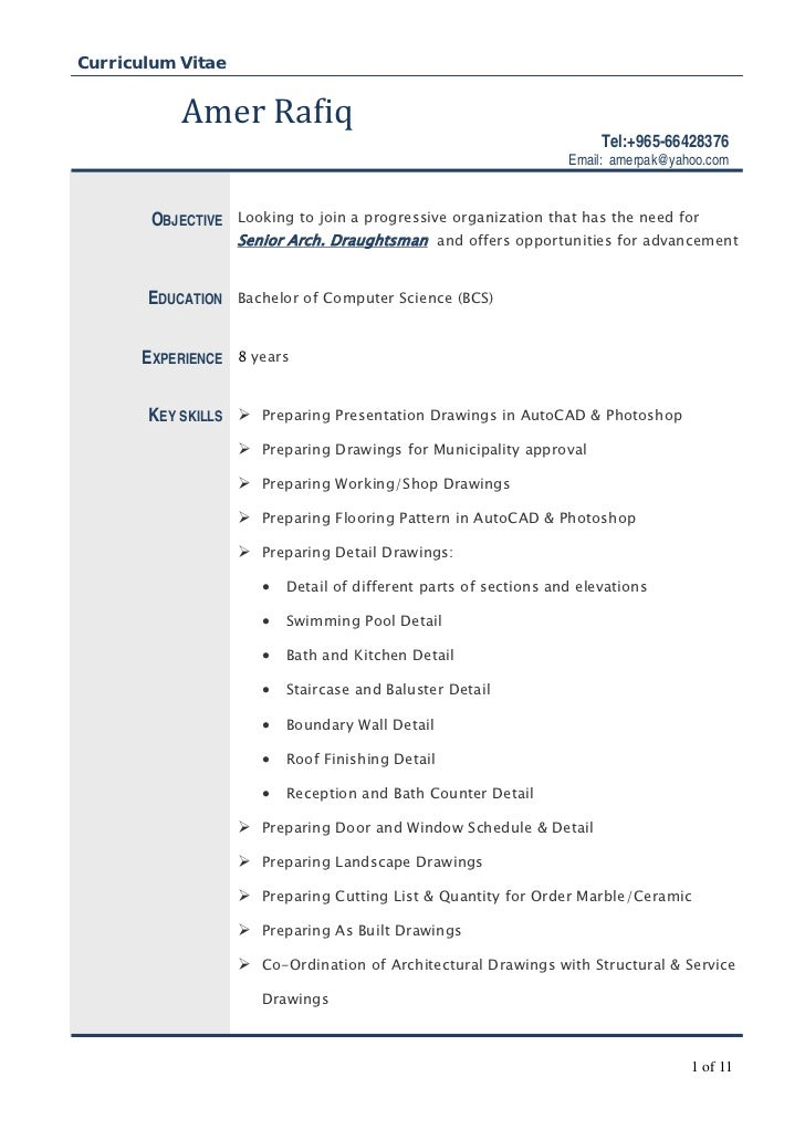 best resume for mechanical engineer