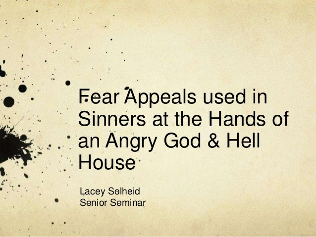 "sinners in the hands of an angry god 3 essay Free essay: on july 8th 1741, jonathan edwards preached the sermon ""sinners in the hands of an angry god"" in enfield, connecticut edwards states to his."
