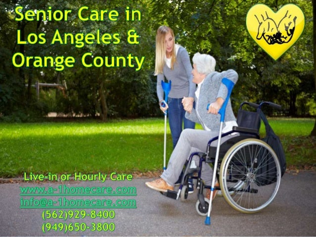 Senior Care in Los Angeles & Orange County