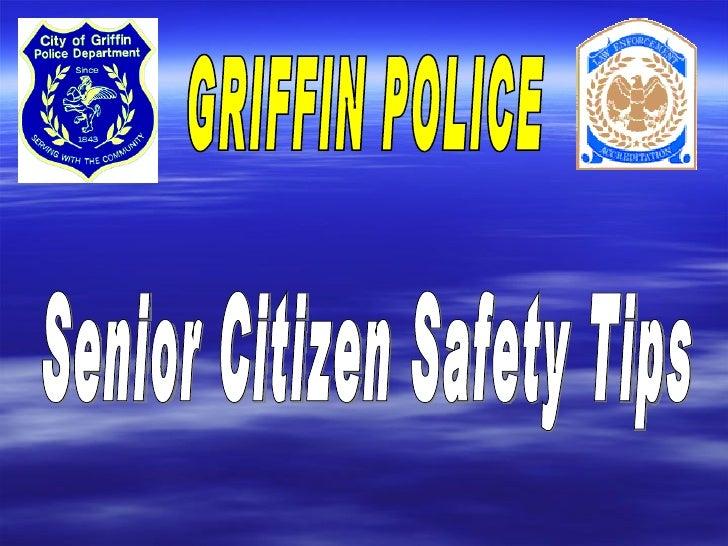 Senior Citizen Safety Tips