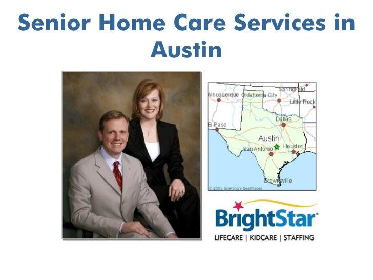 Senior Home Care Services in Austin TX