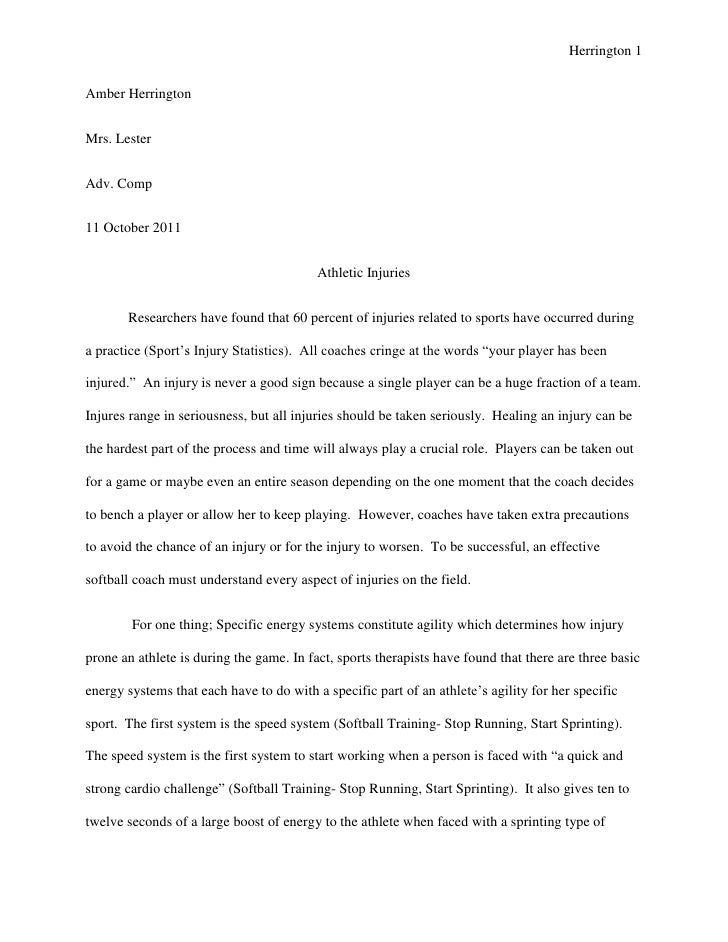 Senior project paper