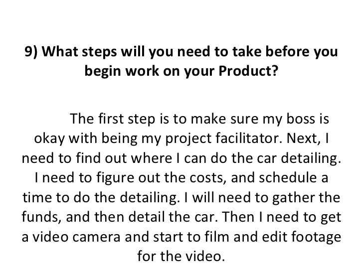 Suggestions for senior project proposal?