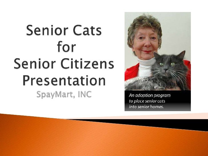 Seniors for seniors presentation