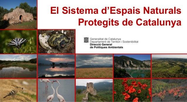 Espais naturals protegits de Catalunya.