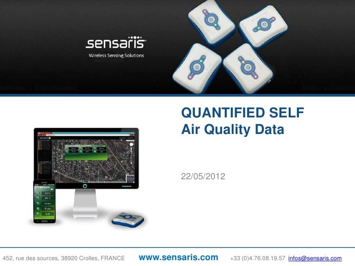 QUANTIFIED SELF                                                      Air Quality Data                                     ...