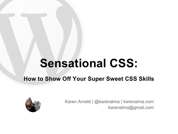 Sensational css  how to show off your super sweet