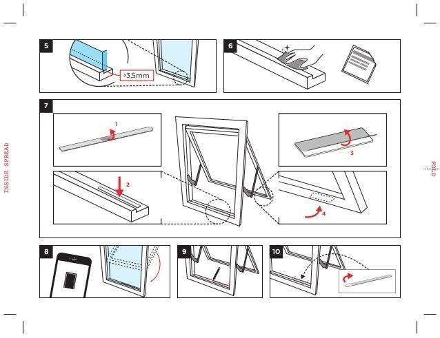 Sensative Door Window Sensor Strip Quickstart Guide Z Wave