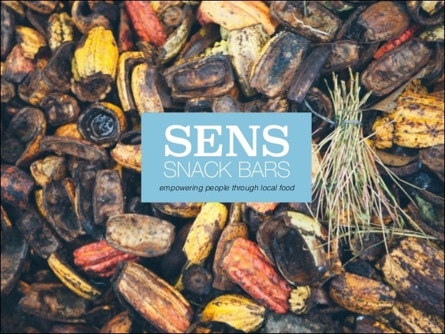 Sens Bar - Innovation Towards Sustainability Course Project