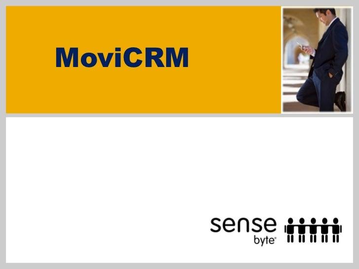 MoviCRM SenseByte