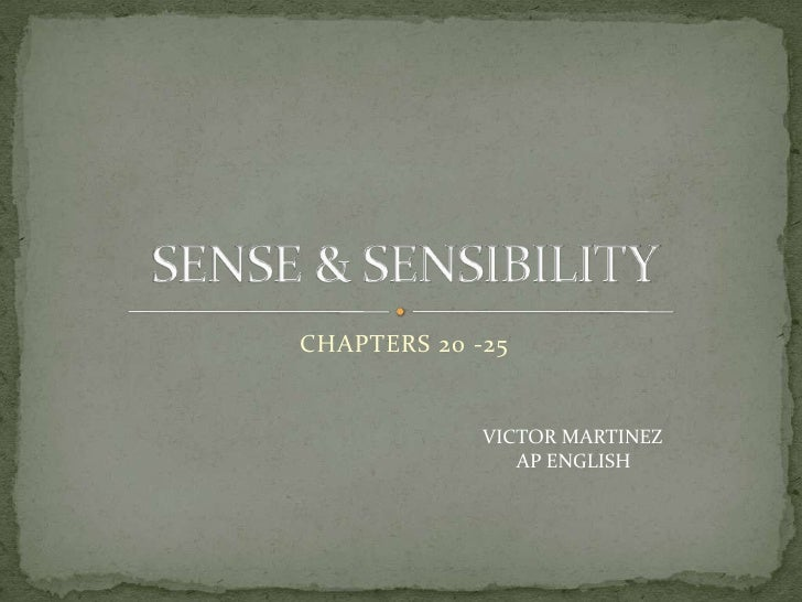 CHAPTERS 20 -25             VICTOR MARTINEZ                AP ENGLISH