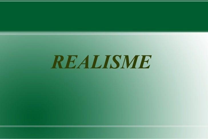 REALISME