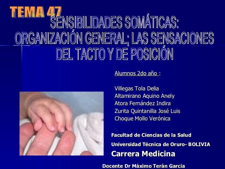 Sensibilidad Somatica UTO