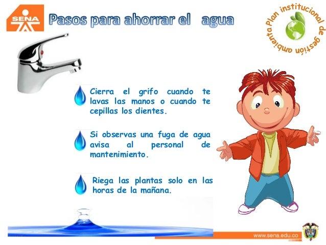 Sensibilizaci n ahorro del agua for Ahorro de agua