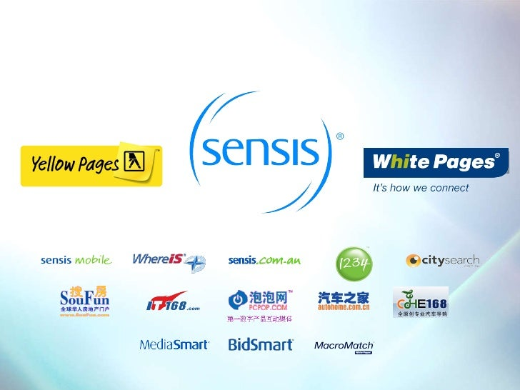 Sensis on the future of print directories