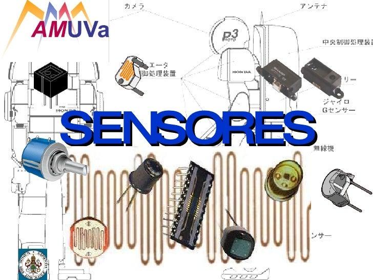 5º Jornadas AMUVA - Sensores