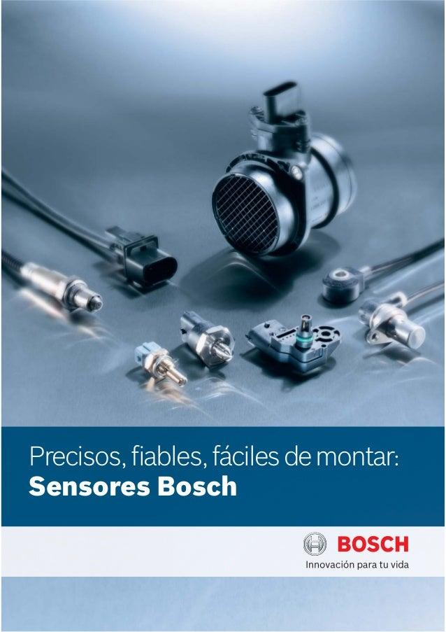 Precisos, fiables, fáciles de montar: Sensores Bosch