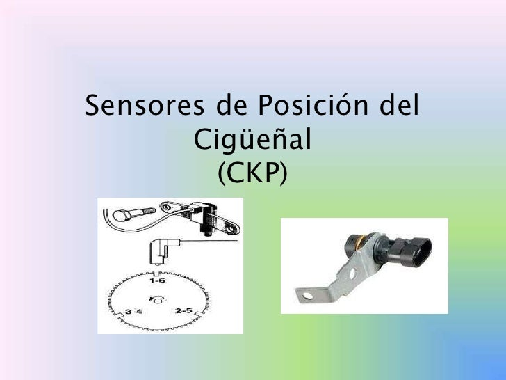 Sensores de Posición del       Cigüeñal         (CKP)