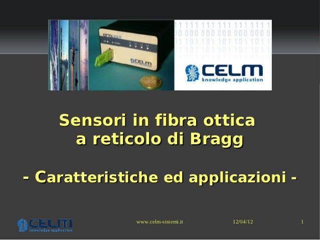 OttoXLight - Sensori in fibra ottica