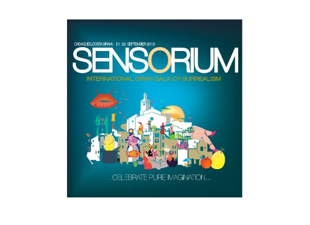 """""""...Sensorium is a dinner from a surrealist dream. And on a   unique night the dream became reality. Each guest worethe su..."""