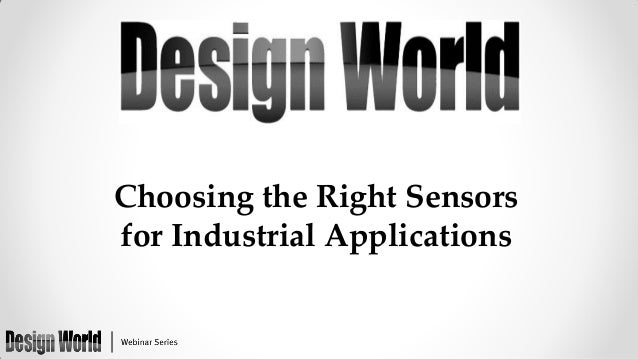 Choosing the Right Sensors for Industrial Applications