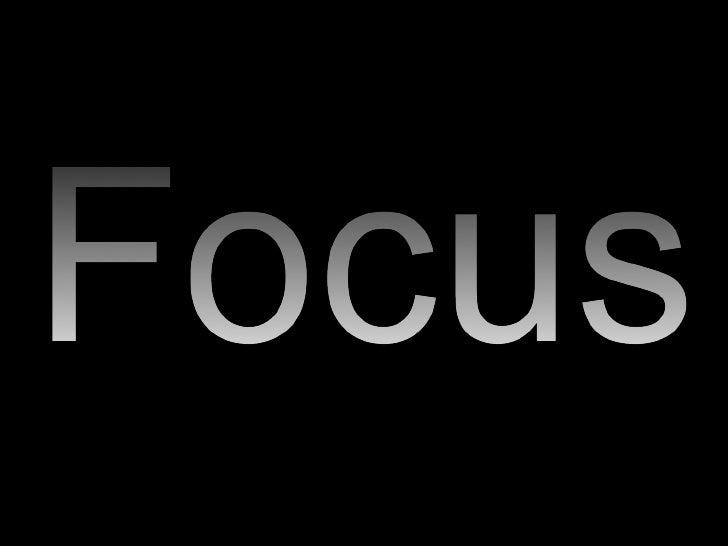 Sensory Focus