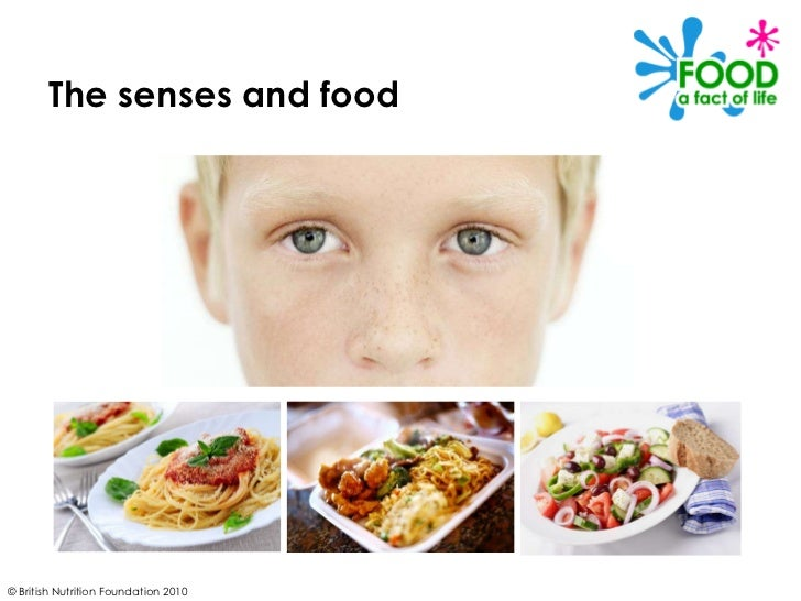 © British Nutrition Foundation 2010 The senses and food