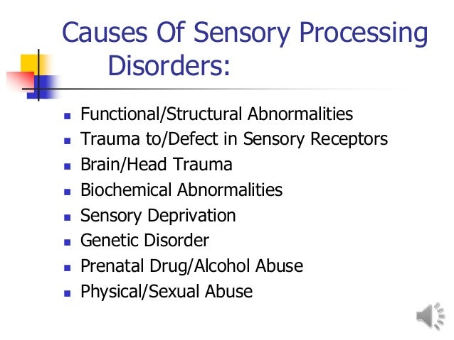 Could I have sensory processing disorder?