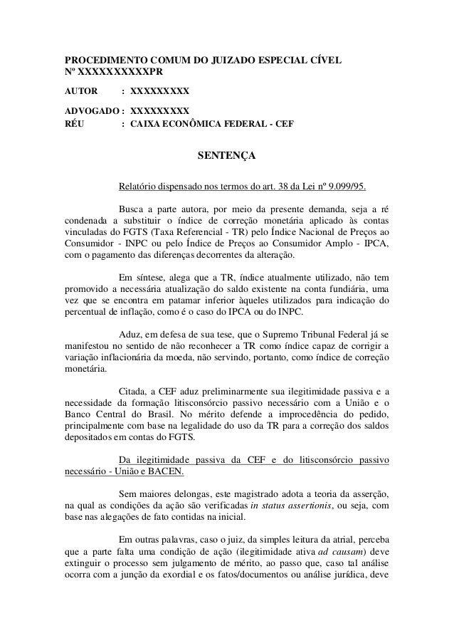 judis.com.br - Ação FGTS - Sentença Procedente FGTS - TRF 4 º  Região Foz do Iguaçu - (PR) IPCA