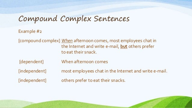 Examples+Of+Compound+Words+Sentence Complex Sentence Examples Complex ...