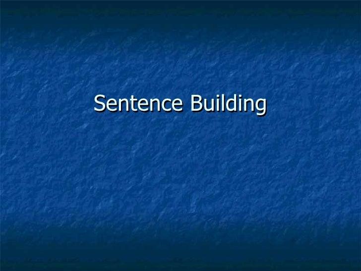 Sentence Building Gus and Grandpa