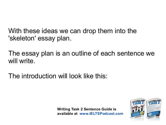 Ielts essay tutorial