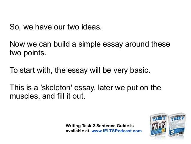 Ielts essay writing tutorial