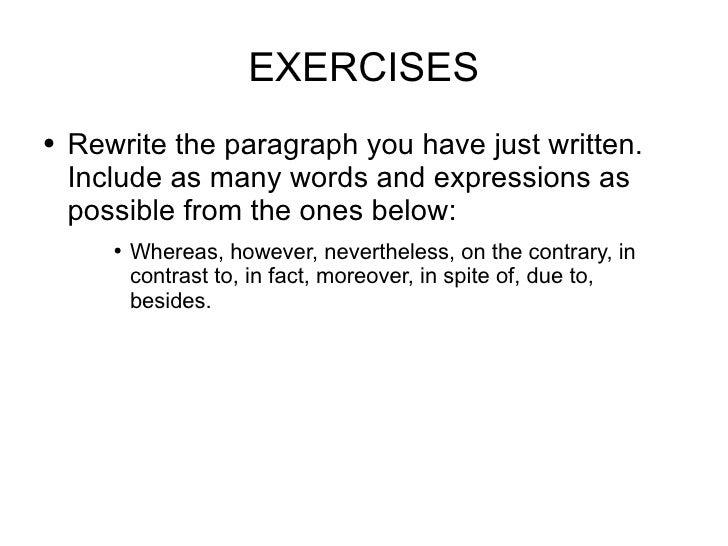 7 paragraph essay