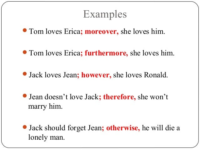 How To Write A Compound Sentence With And Conjunctive Adverb
