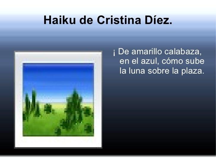 Haikus Cristina Díez