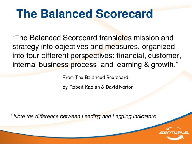 the balanced scorecard notes Procurement policy note – procuring growth balanced scorecard action note ppn 09/16 14 october 2016 issue 1 government wants to maximise the positive impact of public procurement on economic growth by encouraging procurers to take full account of the value suppliers can offer by using a balanced scorecard approach 2.