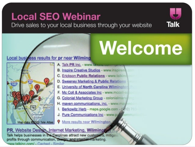 Drive sales to your local business through your website Talk  -I     - results for r nearlflilmin To-rPRln-c,  -  lrii-ri i...