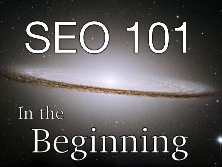 Seo 101 - NYC Faith and Tech