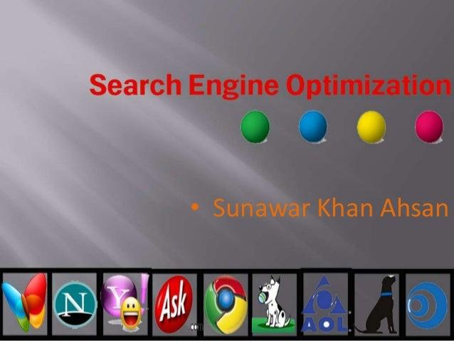 • Sunawar Khan Ahsan